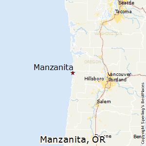 Comparison: Rockaway Beach, Oregon   Manzanita, Oregon