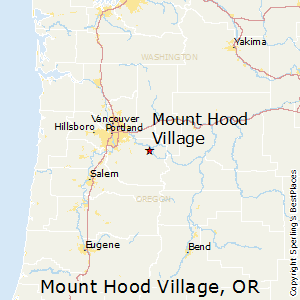 Mount_Hood_Village,Oregon Map