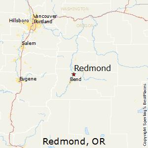 Comparison: Redmond, Oregon   Bend, Oregon