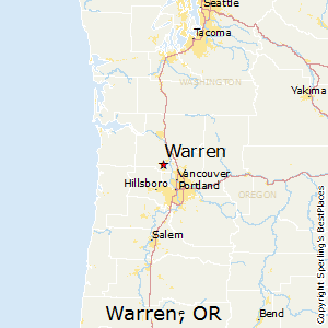 Comparison Warren Oregon St Helens Oregon