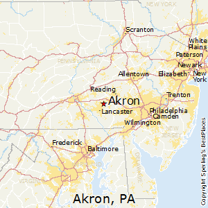 Best Places to Live in Akron Pennsylvania
