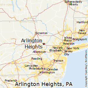 Best Places to Live in Arlington Heights Pennsylvania