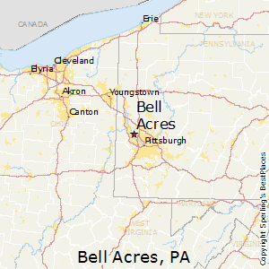 Bell_Acres,Pennsylvania Map