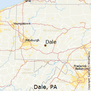 Dale,Pennsylvania Map