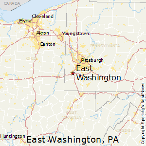 East_Washington,Pennsylvania Map