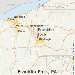 Franklin_Park,Pennsylvania Map