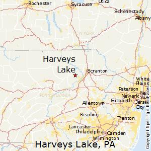 Image result for harveys lake PA map