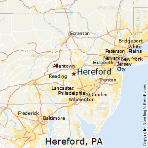 Best Places to Live in Hereford Pennsylvania