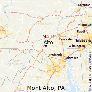 Mont_Alto,Pennsylvania Map