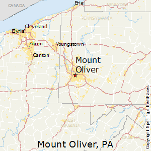Mount_Oliver,Pennsylvania Map