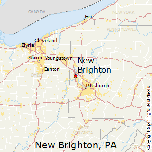 New_Brighton,Pennsylvania Map
