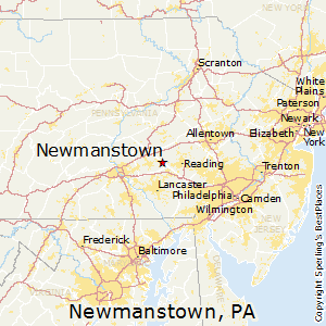 Newmanstown,Pennsylvania Map