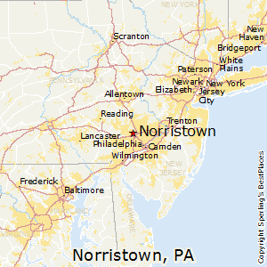 Norristown Pa Zip Code Map.Norristown Pennsylvania Education