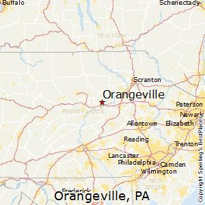 Best Places to Live in Orangeville Pennsylvania