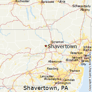 map of dallas pa Best Places To Live In Shavertown Pennsylvania map of dallas pa