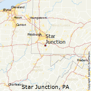 Star_Junction,Pennsylvania Map
