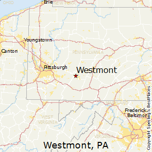 Westmont,Pennsylvania Map
