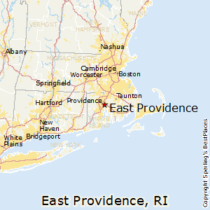 East_Providence,Rhode Island Map