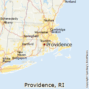 Comparison: Providence, Rhode Island - Boston, Massachusetts