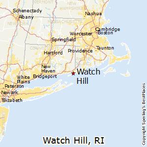 Watch Hill Rhode Island Map Watch Hill, Rhode Island Cost of Living
