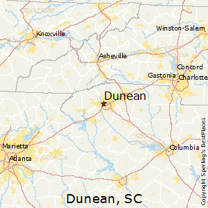 Dunean,South Carolina Map