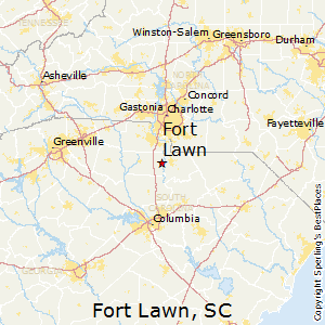 Fort_Lawn,South Carolina Map