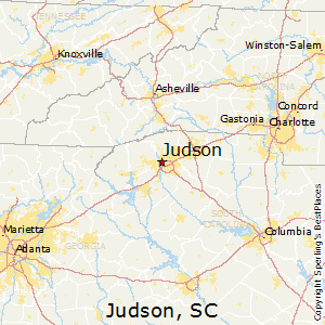 Judson,South Carolina Map