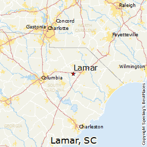 Lamar,South Carolina Map