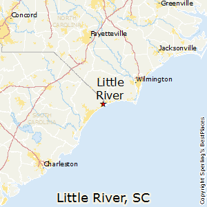 Little_River,South Carolina Map