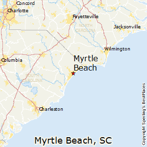 Myrtle_Beach,South Carolina Map