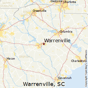 Warrenville,South Carolina Map