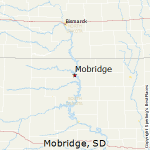 Mobridge,South Dakota Map