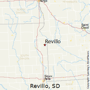 Revillo,South Dakota Map