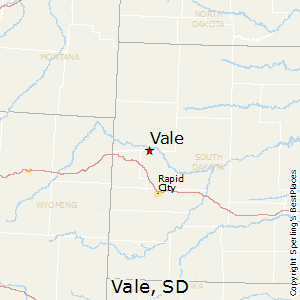 Vale,South Dakota Map