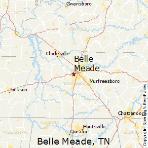 Belle_Meade,Tennessee Map