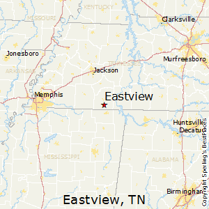 Eastview,Tennessee Map