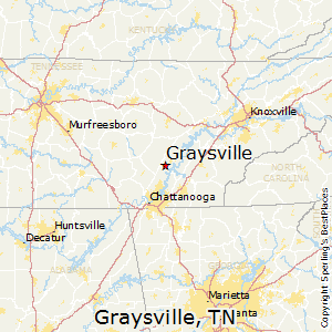 Graysville,Tennessee Map