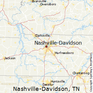 Nashville-Davidson, Tennessee Cost of Living on