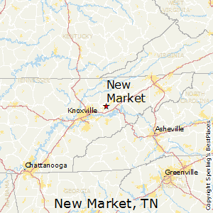 New_Market,Tennessee Map