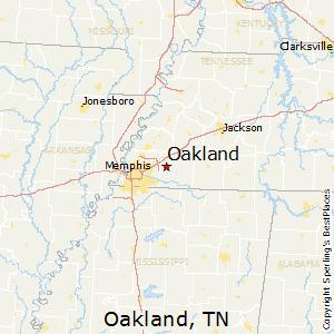 Oakland tn zip code