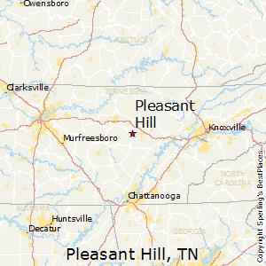Pleasant_Hill,Tennessee Map
