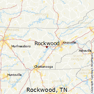 Rockwood,Tennessee Map