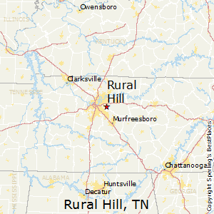 Rural_Hill,Tennessee Map