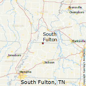 South_Fulton,Tennessee Map