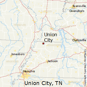 Union_City,Tennessee Map