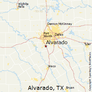 Where Is Alvarado Texas On The Map