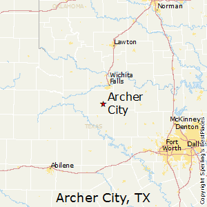 Archer City Texas Map Best Places to Live in Archer City, Texas