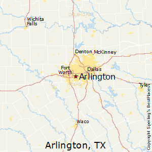 Map Of Arlington Texas.Arlington Texas Religion
