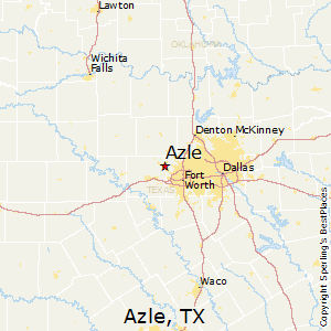 Where Is Azle Texas On The Map
