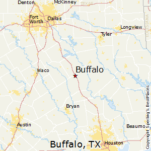 Buffalo Texas Map Best Places to Live in Buffalo, Texas